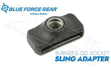 Blue Force Gear Burnsed Socket Sling Adapter, Black Aluminum #P-PBF-125-BK?>
