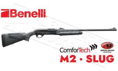 Benelli M2 Shotgun with Rifled Barrel with Sights & ComforTech Synthetic Stock?>