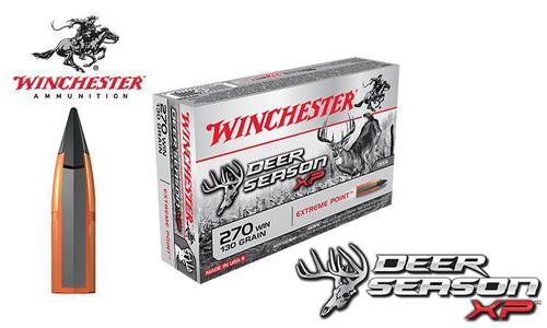 Winchester 270 WIN Deer Season XP, Polymer Tipped 130 Grain Box of 20 #X270DS?>