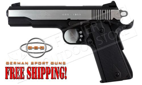 GSG 1911 22LR Government Frame Stainless Two-Tone #H07GSG911SS?>