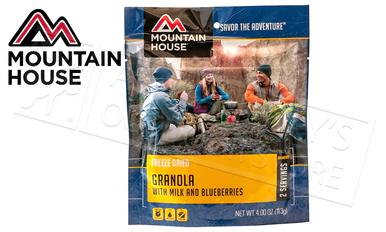 Mountain House Pouch - Granola with Milk and Blueberries, 2 Servings #53449?>