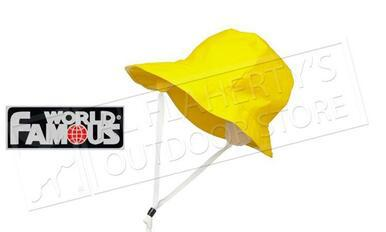 World Famous Sou Western Hat, Yellow One Size Fits All #908?>
