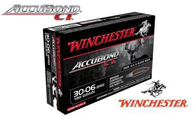 Winchester 30-06 Springfield Accubond CT, Polymer Tipped 180 Grain Box of 20 #S3006CT?>