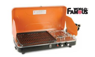 World Famous Propane Stove & Grill Camp Stove #2802?>