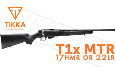 Tikka T1x MTR Rifle, 22LR or 17HMR #TF17512A?>