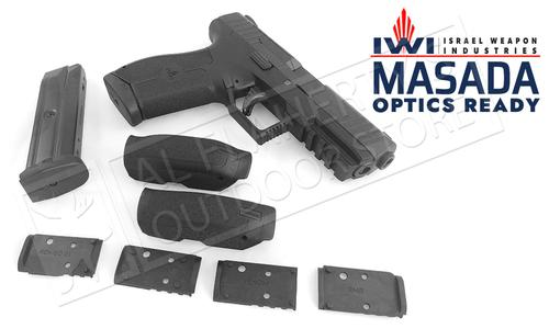 IWI Handgun Masada Optic Ready 9mm in Black #MASADAOR?>