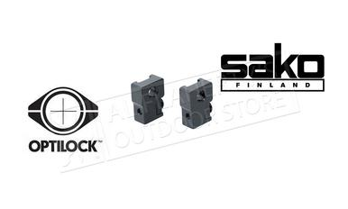 Sako Optilock Mounts, Sako Short Base, Blued #S1A067758?>