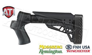 ATI T3 TactLite Shotgun Stock for Remington Mossberg and Winchester - Black  #B.1.10.2007?>