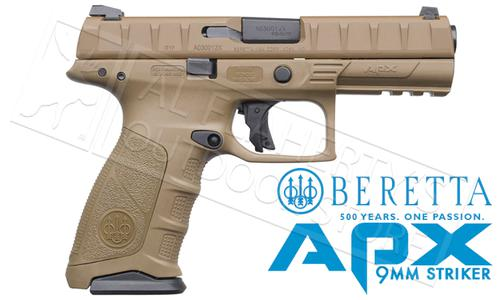 Beretta Handgun APX FDE 9mm #PW32121315341?>
