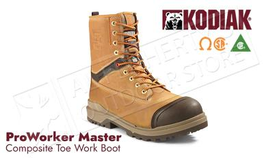 Kodiak ProWorker Master - Leather with Composite Toe 8 Inch Work Boot #KD0A4NK3?>