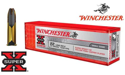 Winchester 22LR Super X, 37 Grain Hollow Point, 1330 FPS, 100 Round Box #X22LRHSS1?>