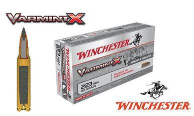 Winchester .223 Rem Varmint X, Polymer Tipped 55 grain Box of 20 #X223P?>