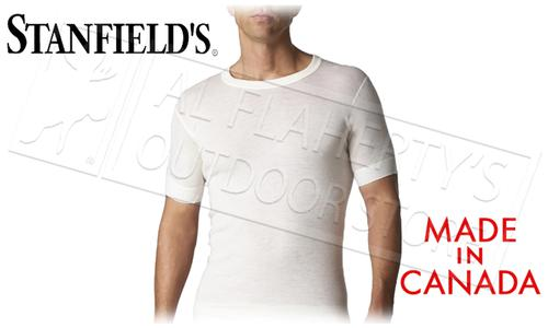 STANFIELD'S SUPERWASH WOOL SHORT SLEEVE, S to XL?>
