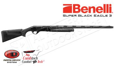 "Benelli Super Black Eagle 3 Shotgun, 12 Gauge, 3.5"" Chamber, Black Synthetic #10316?>"