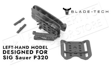 Blade-Tech Original Holster for SIG P320, Left-Handed with ASR and Tek-Lok Mounts #HOLX000842984774?>