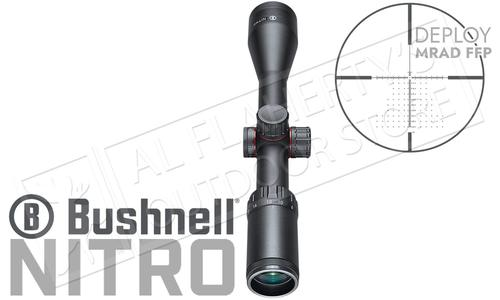 Bushnell Nitro Riflescope 6-24x50mm with Deploy MIL FFP Reticle #RN6245BF2?>