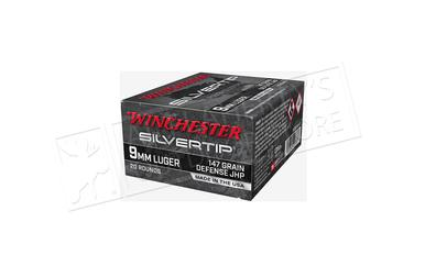 Winchester 9mm Defense JHP Silvertip 147 Grain #W9MMST2?>