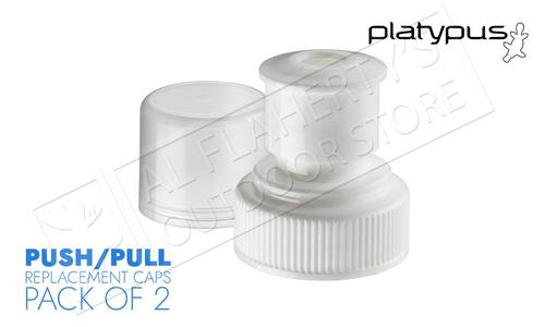 Platypus Push-Pull Caps for Platy Bottle and Platy Resevoirs, Pack of 2 #07043?>