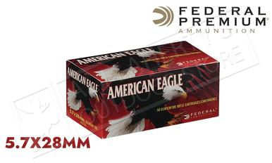 Federal American Eagle 5.7x28 FMJ 40 Grain Box of 50  #AE5728A?>