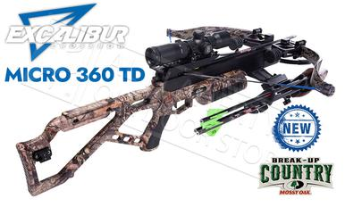 Excalibur Micro 360 TD Crossbow in MOBUC Camo with Tact-Zone Scope #E73572?>