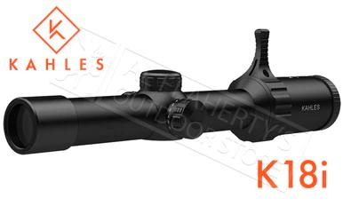 Kahles Scope K18i 1-8X24 with Illuminated 3GR Reticle #K18i?>