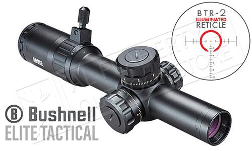 Bushnell Elite Tactical SMRS Scope 1-6.5x24mm with Illuminated BTR-2 Reticle #ET1626?>