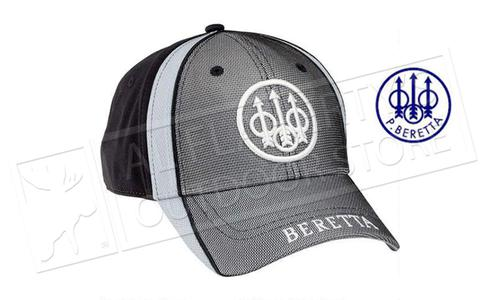Beretta Tactical Cap with Trident Logo, Tri-toned Black/White/Grey, BT1291450999?>