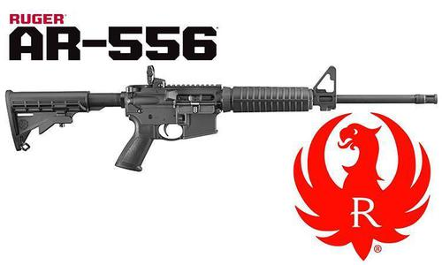 Ruger AR-556 Modern Sporting Rifle, 5.56x45 #8501.?>