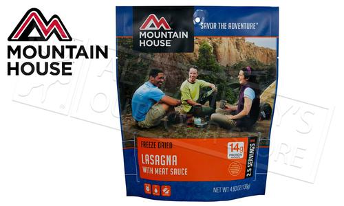 Mountain House Pouch - Lasagna with Meat Sauce, 2.5 Servings #53127?>