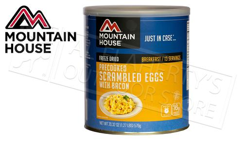 Mountain House Can - Scrambled Eggs with Bacon, 13 Servings, 1.27lbs #30447?>