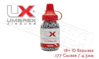 Umarex Precision Steel BBs .177 Cal Bottle of 1500 #2252549?>