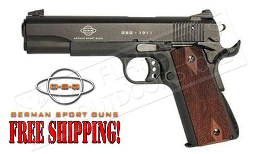 GSG 1911 22LR Government Frame with Faux-Wood Grips #1911STDWNT?>