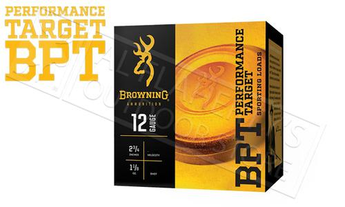 "Browning Ammo BPT Sporting Clay Shells 12 Gauge 2-3/4"", No. 7-1/2 Shot 1-1/8 oz. 1200 FPS, Case of 250 #B193621227?>"