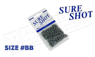 Sure Shot Split Shot, Size BB, 100g #SSBBCG?>