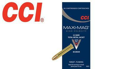 CCI 22 Win Mag Maxi Mag Rimfire Ammunition, Box of 50 #0023?>