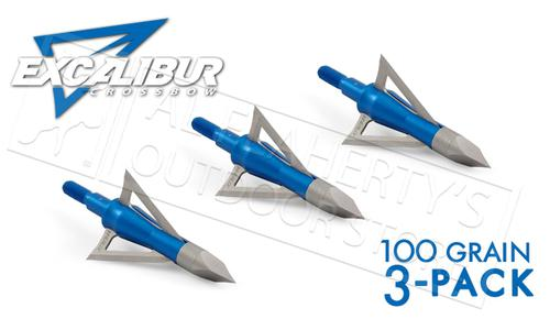 Excalibur Crossbow BoltCutter Broadheads 100 Grain 3-Pack #6675?>