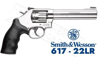 "Smith & Wesson 617 Revolver .22LR 6"" 10-Shot #160578?>"