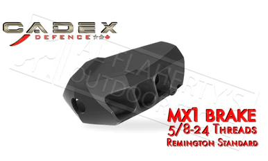 "Cadex Defence MX1 Muzzle Brake for Calibers up to 338, 5/8-24"" Threading #3850-028?>"