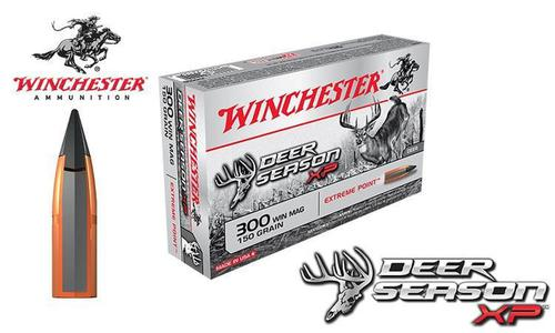 Winchester 300 Winchester Magnum Deer Season XP, Polymer Tipped 150 Grain Box of 20 #X300DS?>