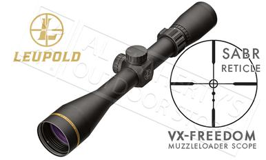 Leupold VX-Freedom Muzzleloader and Shotgun Scope 3-9x40mm with Sabot Ballistics Reticle #174184?>