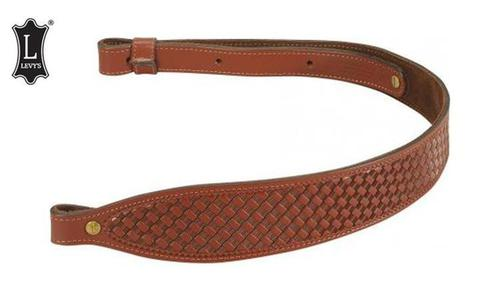 "Levy's Leathers Leather Cobra Rifle Sling, 29"" - 38"" Walnut Brown #SN20T02-WAL?>"