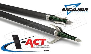 Excalibur X-Act Mechanical Broadheads 3-Pack 100 Grain #6672?>