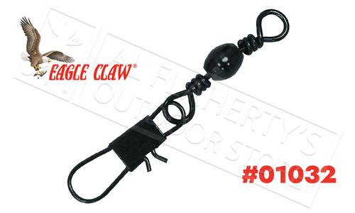 Eagle Claw Barrel Swivel with Interlock Snap, Sizes 14 to 1 #01032?>