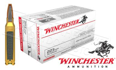 Winchester 223 Rem Bulk, 55 Grain FMJ Case of 150 #USA223L1?>