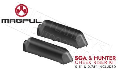 Magpul SGA Rifle and Shotgun Stock Cheek Riser Kit #MAG461-BLK?>