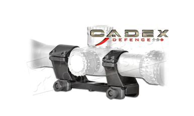 Cadex Defence Unitized Scope Rings, Dia. 34mm Height: 1.250 (Low) #1552-B34L?>