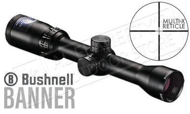 Bushnell Banner Scope, 1.5-4.5x32mm w/Multi-X Reticle #611546?>