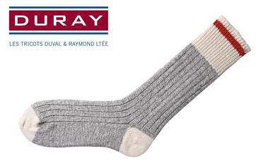 Duray Original Wool Work Sock, Large, Pack of 3 #169C?>