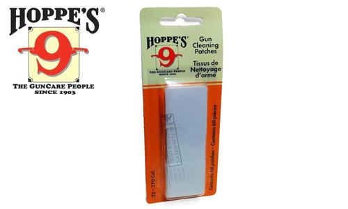 Hoppe's Cleaning Patches .22 to .270, 60 Pieces #1202?>