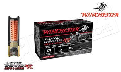 "Winchester Elite Long Beard XR Turkey Shells 12 Gauge 2-3/4"" 1-1/4 oz. #5 Shot, 1300 FPS, Box of 10 #STLB125?>"